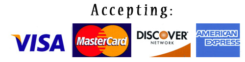 Credit Card Accepted